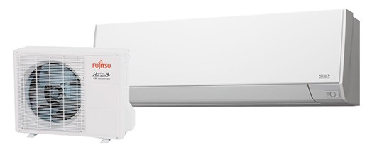 Wall mount ductless mini split heat pump